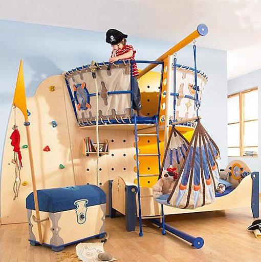 Детские комната для мальчика своими руками