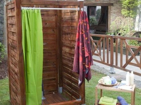 Как смастерить летний душ