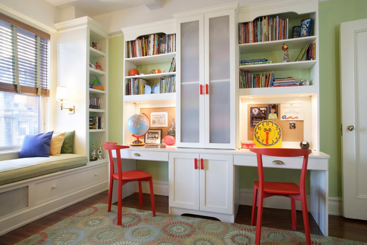 Фото дизайн детских письменных столов