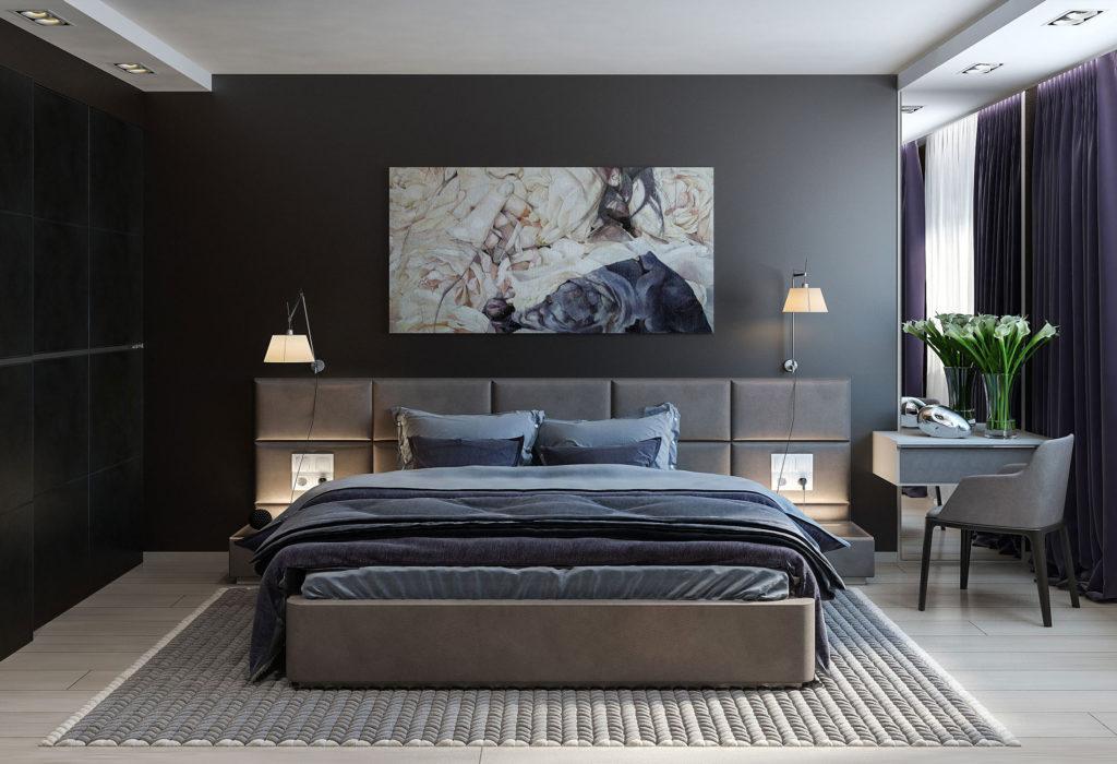 Спальня кому за 30