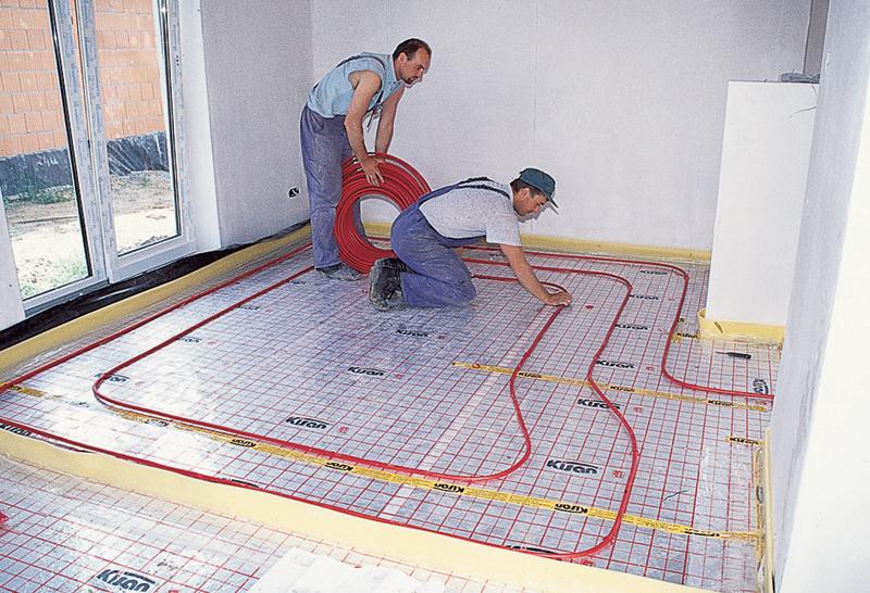 Как уложить электрический теплый пол